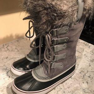 Sorel Joan of Arctic Boot 10 Gray NEW